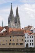 Regesnburg cathedral — Stock Photo