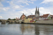 Famous Regensburg — Stock Photo