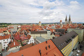 View over Regensburg — Stock Photo