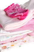 Pink Baby Clothes — Stock Photo