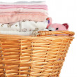 Stock Photo: Pink Baby Laundry