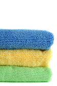 Microfiber Cloths — Stock Photo