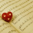 Romantic Music - Stock Photo
