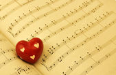 Romantic Music — Foto Stock