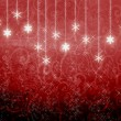 Red New Year's background — Stock Photo