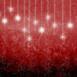 Red New Year's background - Stock Photo