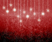 Red New Year's background — Stockfoto