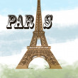 Stock Photo: Paris tower