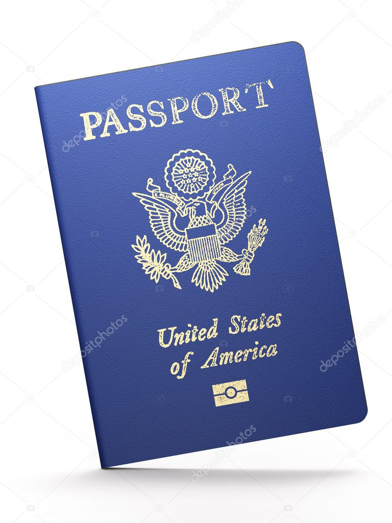 American passport — Stock Photo © maxkabakov #6769322