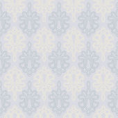 Seamless Victorian Style wallpaper background — Stock Vector