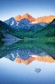 Maroon Bells — Stock Photo