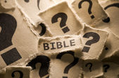 Questioning the Bible — Stock Photo
