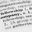 Dictionary Series - Company — Stock Photo