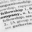 Dictionary Series - Company — Stock Photo