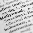 Dictionary Series - Hollywood — Stock Photo #7350871