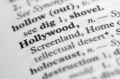 Dictionary Series - Hollywood — Stock Photo