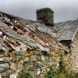 Disused old ruined barn in Wales — Stock Photo #6802868