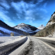 Stock Photo: ColumbiIcefields Parkway, Canada