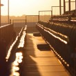 Empty Grandstand — Stock Photo