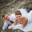 Wedding couple — Foto de stock #6900394