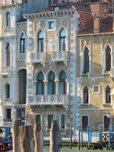 Old house in venice italy — Stock Photo