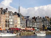 Honfleur, Normandy France — Stock Photo