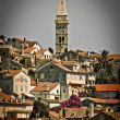 Picturesque town of Mali Losinj - vertical view — Stock Photo