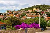 Adriatic village of Cunski, Island of Losinj — Stock Photo