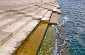 Zadar sea organs - powered by the sea stream — Stock Photo