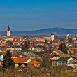 Historic Town of Krizevci panoramic cityscape — Stock Photo #7936118