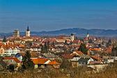 Historic Town of Krizevci panoramic cityscape — Stock Photo
