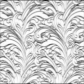 Preto e branco mão de desenho — Vetorial Stock