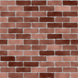Brick wall textured seamless tile - Stock Photo