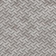Metallic hand textured seamless tile - Stock Photo