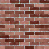Brick wall textured seamless tile — Stock Photo