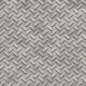 Metallic hand textured seamless tile — Stock Photo