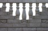 The balustrade — Stock Photo