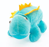 The toy of the little charming dragon — Stock Photo