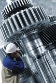 Strojírenství a strojních zařízení — Stock fotografie
