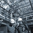 Oil and gas, refinery works — Stock Photo #6948828