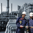 Workers and oil industry — Stock Photo #7284217