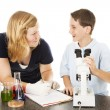 Stock Photo: Fun with Science
