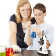 Stock Photo: Science in School