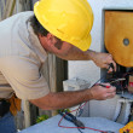 Air Conditioning Repairman 2 — Stock Photo