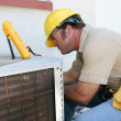 Air Conditioning Repairman 4 - Stock Photo