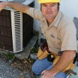 Stock Photo: Competent AC Repairman