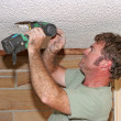 Electrician Drilling — Stock Photo #6778989
