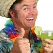 Margarita Man Thumbs Up 1 — Stock Photo