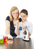 Science in School — Stock Photo