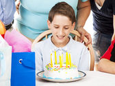 Tenth Birthday Celebration — Stock Photo